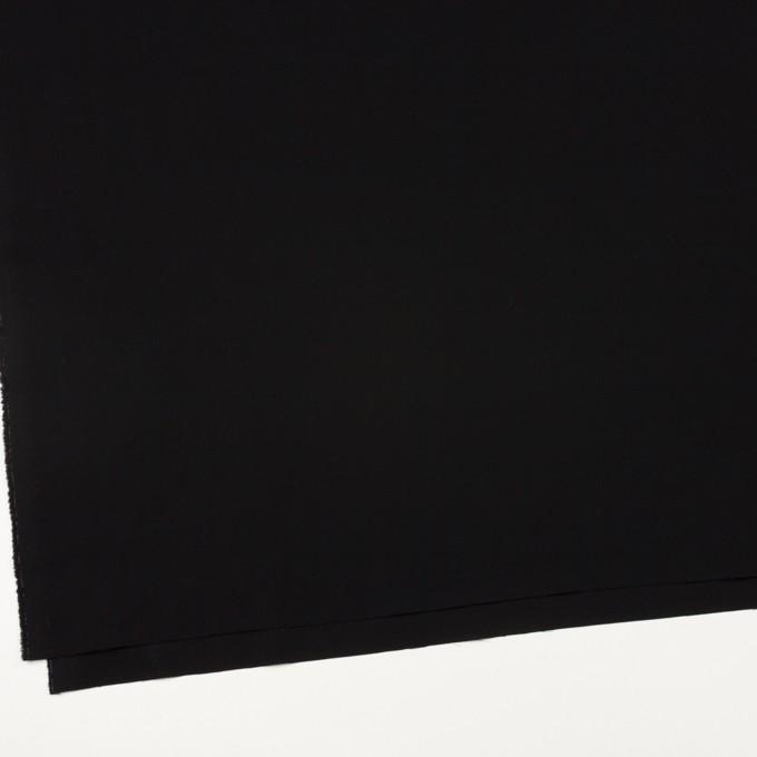 コットン×無地(ブラック)×サージ イメージ2