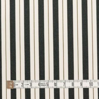 コットン×ストライプ(クリーム&ブラック)×ブロードジャガード サムネイル4