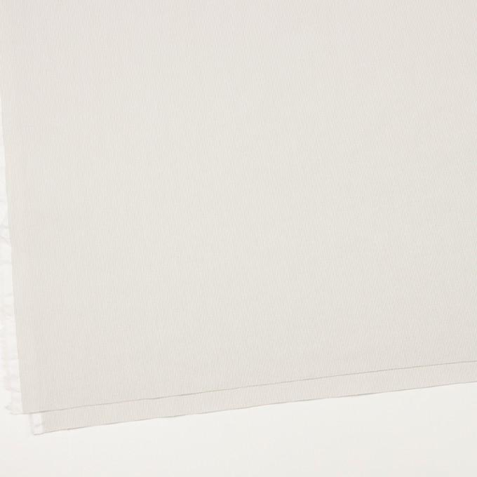 コットン&ポリエステル混×ストライプ(ベージュグレー)×コードレーン・ストレッチ_全3色 イメージ2