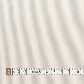 コットン&ポリエステル混×ストライプ(ベージュグレー)×コードレーン・ストレッチ_全3色 サムネイル4