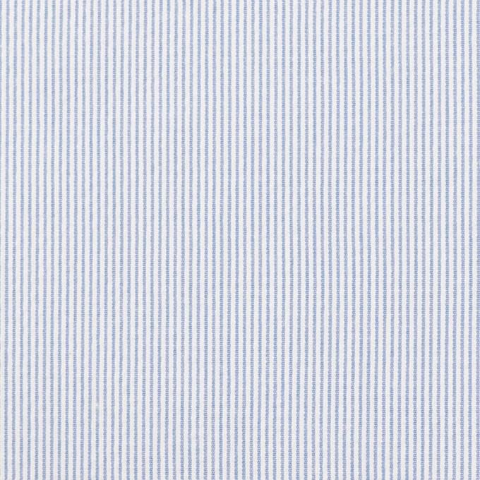 コットン&ポリエステル混×ストライプ(ブルー)×コードレーン・ストレッチ_全3色 イメージ1