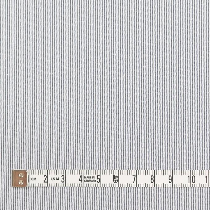 コットン&ポリエステル混×ストライプ(ネイビー)×コードレーン・ストレッチ_全3色 イメージ4