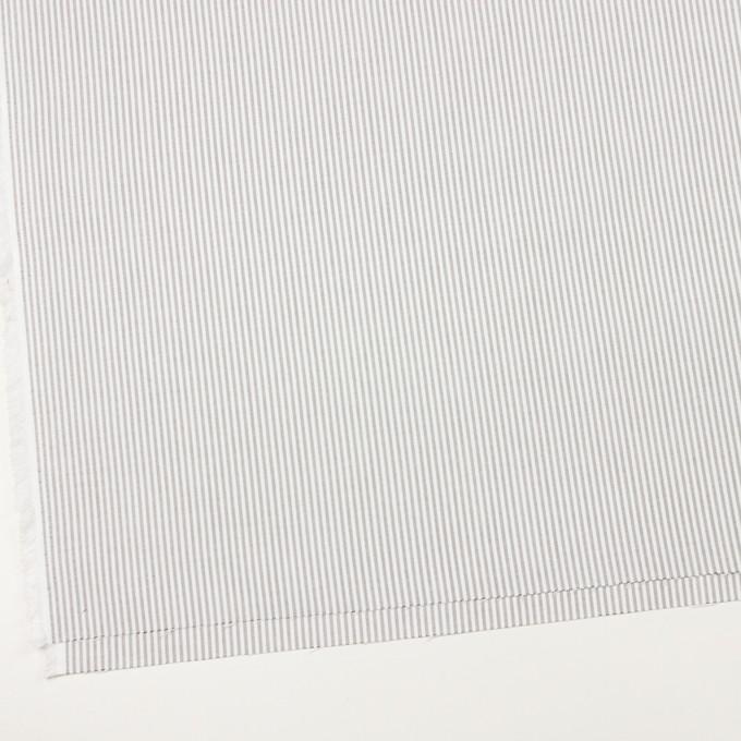 コットン×ストライプ(チャコール)×オックスフォード イメージ2