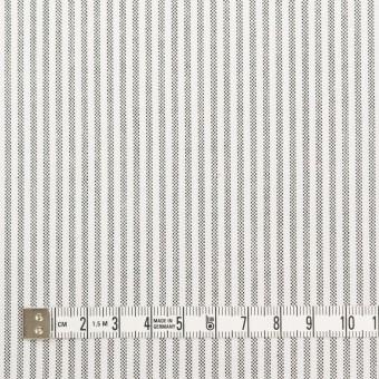 コットン×ストライプ(チャコール)×オックスフォード サムネイル4