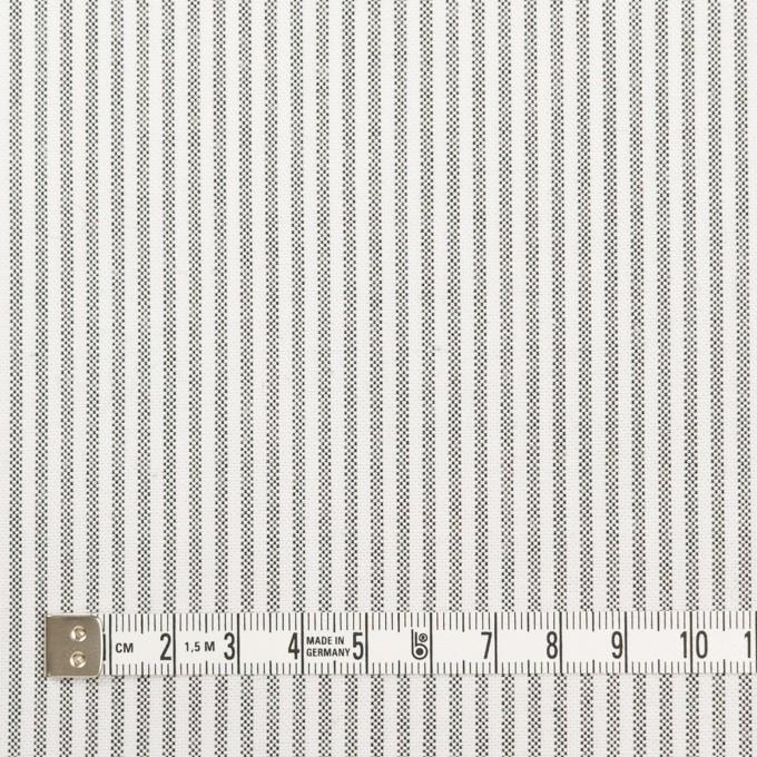 コットン×ストライプ(チャコール)×オックスフォード イメージ4