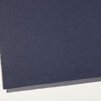 コットン&リネン×無地(ネイビー)×かわり織 サムネイル2