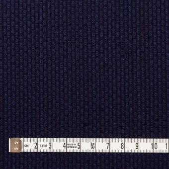 コットン×無地(インディゴ)×刺し子 サムネイル4