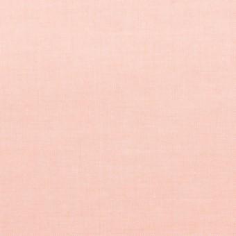 コットン×無地(ピーチ)×シャンブレー・ローン_全7色
