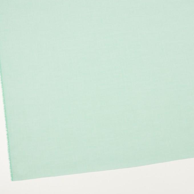 コットン×無地(ミントグリーン)×シャンブレー・ローン_全7色 イメージ2