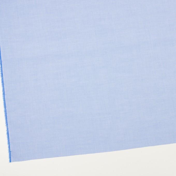 コットン×無地(ブルー)×シャンブレー・ローン_全7色 イメージ2