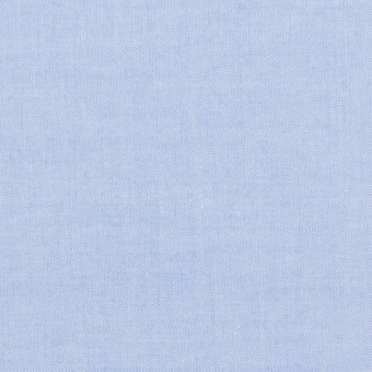 コットン×無地(ブルー)×シャンブレー・ローン_全7色 サムネイル1