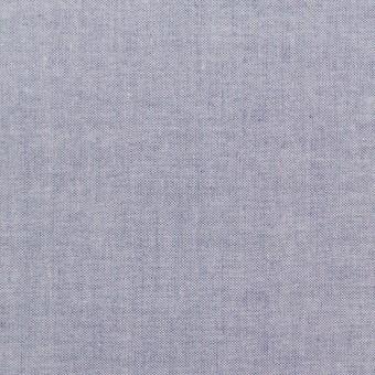 コットン×無地(アッシュネイビー)×シャンブレー・ローン_全7色