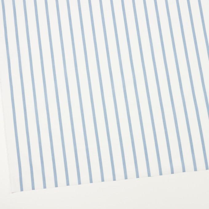 ナイロン&コットン×ストライプ(サックス)×ブロード_全3色 イメージ2