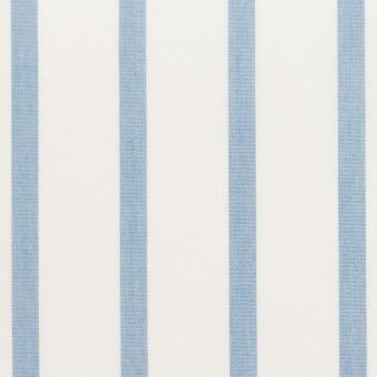 ナイロン&コットン×ストライプ(サックス)×ブロード_全3色 サムネイル1