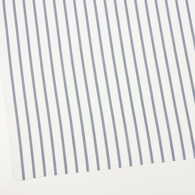 ナイロン&コットン×ストライプ(ネイビー)×ブロード_全3色 イメージ2