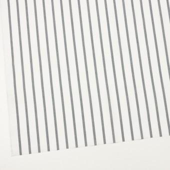 ナイロン&コットン×ストライプ(チャコール)×ブロード_全3色 サムネイル2