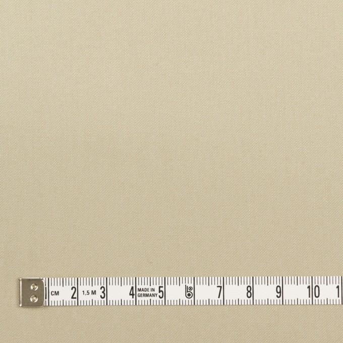 コットン×無地(ライトカーキ)×ギャバジン_全2色_イタリア製 イメージ4