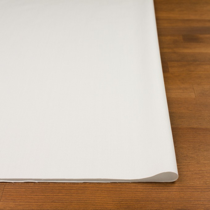 コットン&ウール混×無地(ライトグレー)×サージストレッチ_全3色_イタリア製 イメージ3