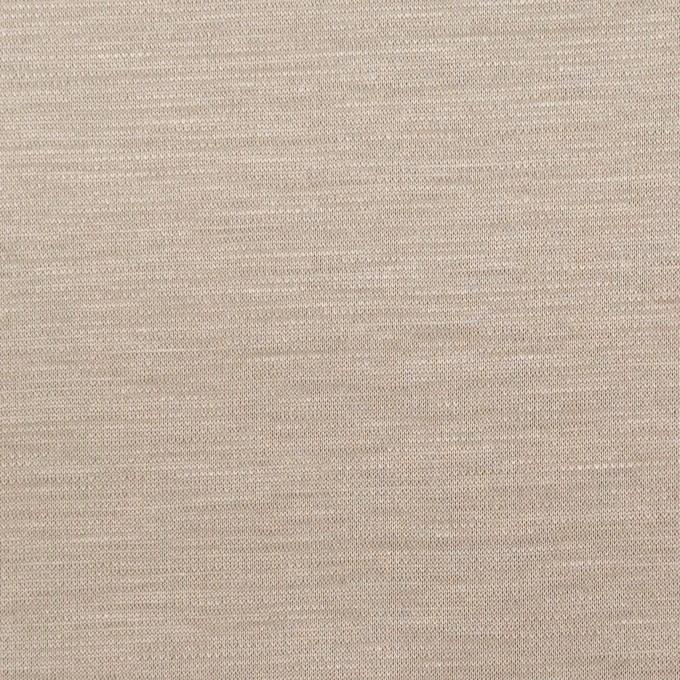コットン&モダール×無地(アッシュブロンド)×スムースニット_全2色 イメージ1
