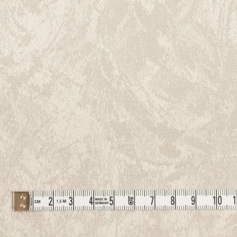 コットン&ポリウレタン×幾何学模様(グレイッシュベージュ)×ジャガード・ストレッチ サムネイル4