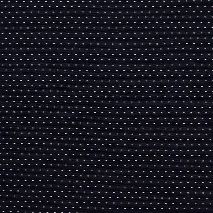 コットン×ドット(ダークネイビー)×ブロードドビー イメージ1