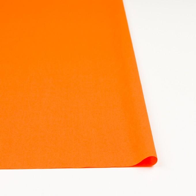コットン×無地(オレンジ)×ローンワッシャー_全4色 イメージ3