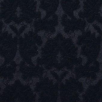 コットン&ポリエステル×幾何学模様(ダークネイビー)×サテンジャガード_全4色 サムネイル1