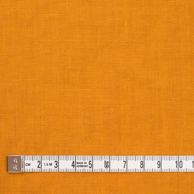 リネン×無地(マンダリンオレンジ)×薄キャンバス_全25色 イメージ4