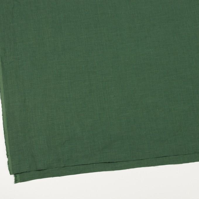 リネン×無地(フォリッジグリーン)×薄キャンバス_全25色 イメージ2