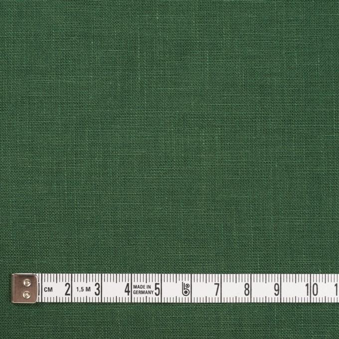 リネン×無地(フォリッジグリーン)×薄キャンバス_全25色 イメージ4