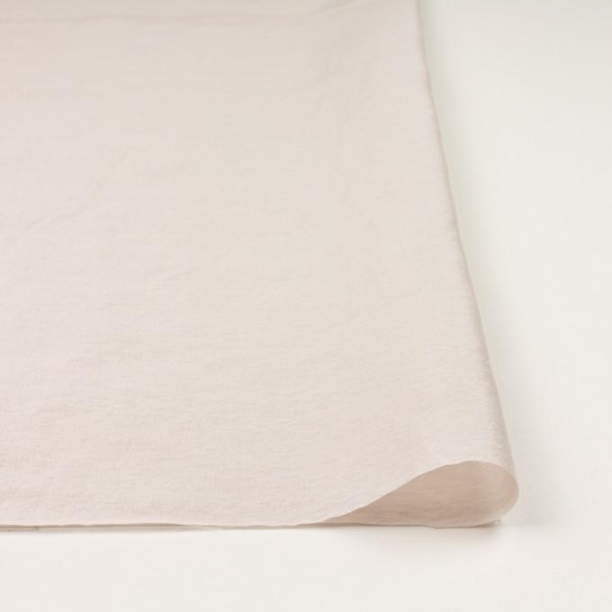 ナイロン&リネン混×無地(パール)×オーガンジーワッシャー_全2色 イメージ3