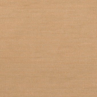 ナイロン&リネン混×無地(セピア)×オーガンジーワッシャー_全2色
