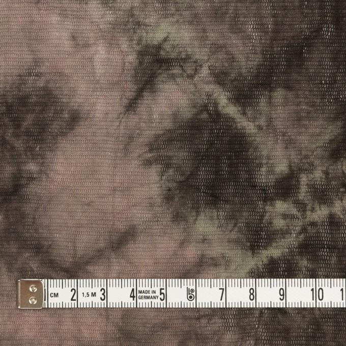 コットン×ミックス(ピンクベージュ&カーキブラウン)×パワーネット・ワッシャー イメージ4