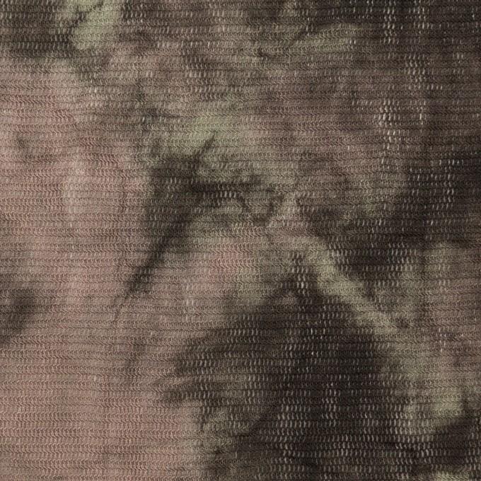 コットン×ミックス(ピンクベージュ&カーキブラウン)×パワーネット・ワッシャー イメージ1