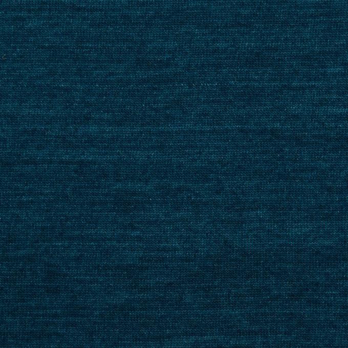 コットン×無地(バルビゾンブルー)×天竺ニット_全2色 イメージ1