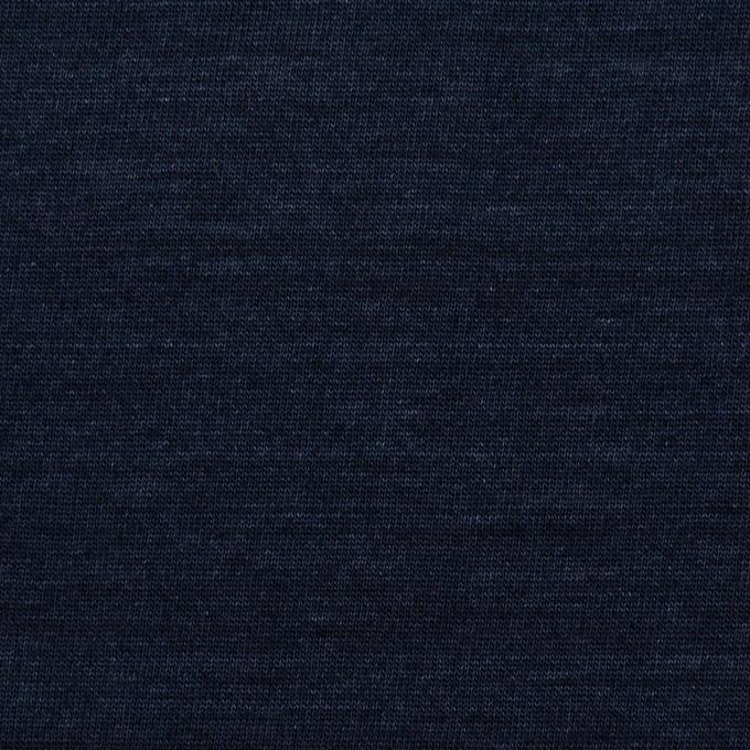コットン×無地(ネイビー)×天竺ニット_全2色 イメージ1
