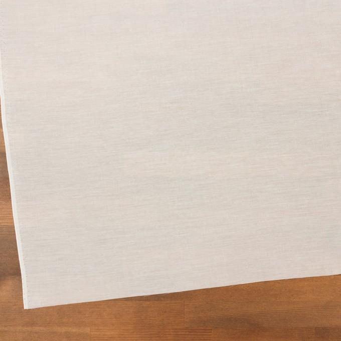 コットン&シルク×無地(ミルキーホワイト)×ボイル イメージ2