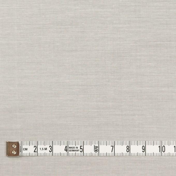コットン&シルク×無地(ミルキーホワイト)×ボイル イメージ4
