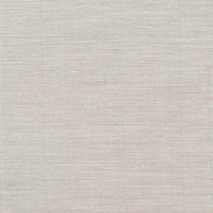 コットン&シルク×無地(ミルキーホワイト)×ボイル イメージ1