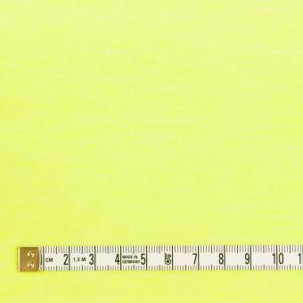 コットン&ポリエステル×無地(ネオンイエロー)×天竺ニット サムネイル4