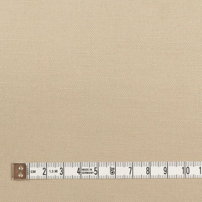 リネン&レーヨン×無地(カーキベージュ)×サージ_全5色 イメージ4