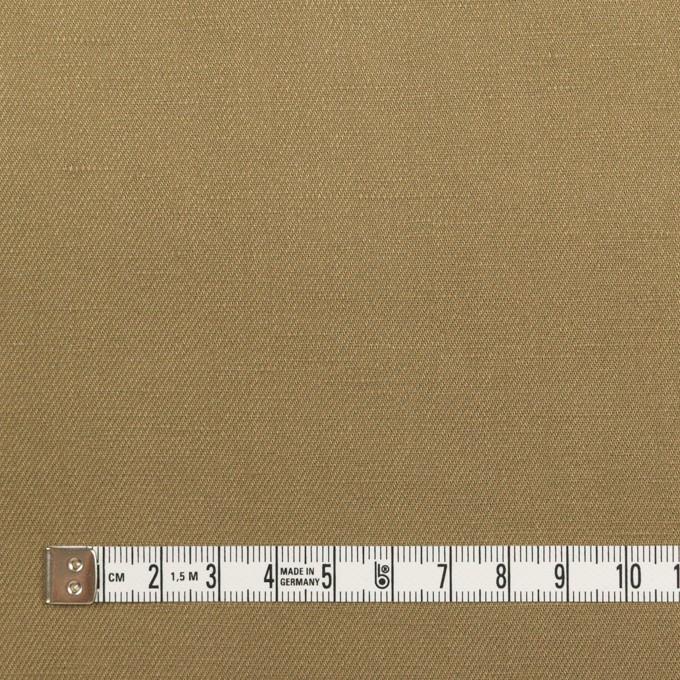 リネン&レーヨン×無地(カーキ)×サージ_全5色 イメージ4