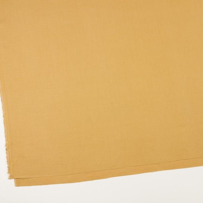 リネン&レーヨン×無地(ディジョンマスタード)×サージ_全5色 イメージ2