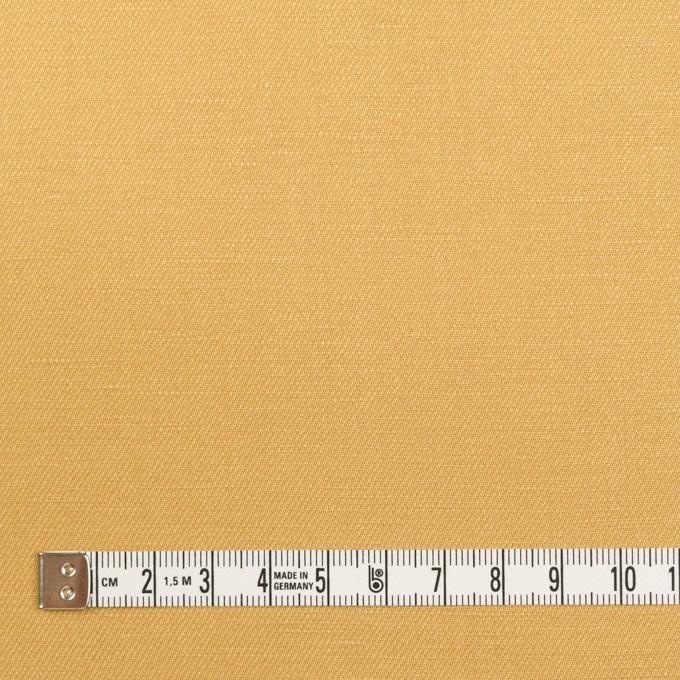 リネン&レーヨン×無地(ディジョンマスタード)×サージ_全5色 イメージ4