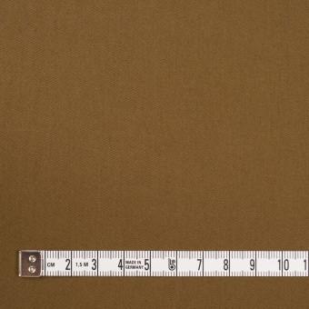 コットン&ポリウレタン×無地(ブラウン)×ギャバジン・ストレッチ_全2色_イタリア製 サムネイル4