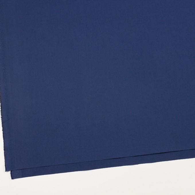 コットン&ポリウレタン×無地(マリンブルー)×ギャバジン・ストレッチ_全2色_イタリア製 イメージ2