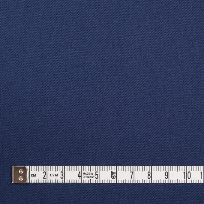 コットン&ポリウレタン×無地(マリンブルー)×ギャバジン・ストレッチ_全2色_イタリア製 イメージ4