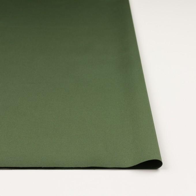 コットン&ポリウレタン×無地(フォレストグリーン)×チノクロス・ストレッチ_全3色 イメージ3