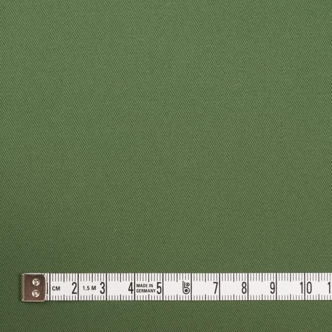 コットン&ポリウレタン×無地(フォレストグリーン)×チノクロス・ストレッチ_全3色 イメージ4