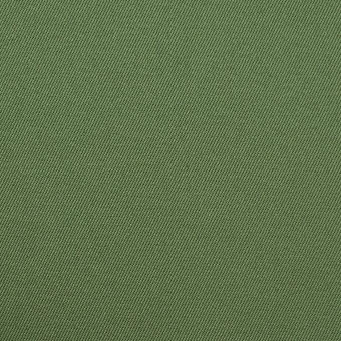 コットン&ポリウレタン×無地(フォレストグリーン)×チノクロス・ストレッチ_全3色 イメージ1